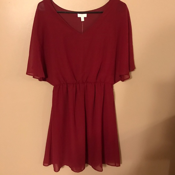 e054af7a2cb2 Charming Charlie Dresses | Red Cocktail Dress Brand New | Poshmark